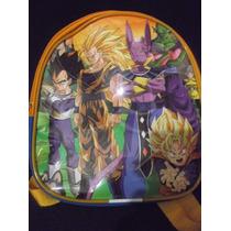 Lote 10 Mochilas Dulceros Dragon Ball Z Batalla De Los Diose