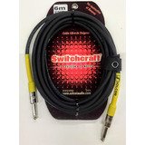 Cable Guitarra Electrica Bajo Bass 6mts. Switchcraft Solcor