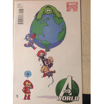 Avengers #1 Sy Variante Skottie Young Marvel Comics Ingles