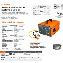 Cable Para Soldadora Sot-225 Con Pinza De Tierra