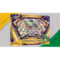 Cartas Pokémon Rayquaza Ex Box Tcg