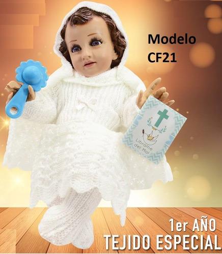 Varios Modelos Vestido Ropon Niño Dios Talla12 20 Premium En