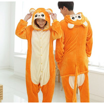 Kigurumi Pijama Mameluco Onesi Cosplay Changuito Mono Adulto