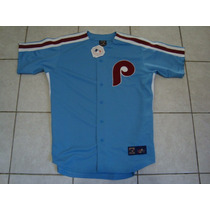 Philadelphia Phillies Camisola Retro Talla Xl Bordada