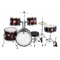 Bateria Musical Infantil Instrumento 7 Piezas + Accesorios