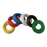 Cable Automotriz Plastico 100% Cobre Calibre 14 30 Mts Color