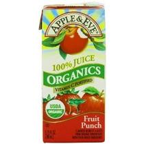 Jugo De Manzana Y Eva Orgánica Fruit Punch 3 Count (paquete