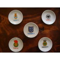 Platos De Porcelana Del Mundial De Mexico 70...
