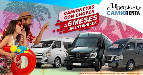 Renta De Camionetas Ejecutivas, Familiares Y De Bajo Costo