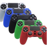 Silicon Control Ps4 +regalo Grips Goma Protector Funda Play