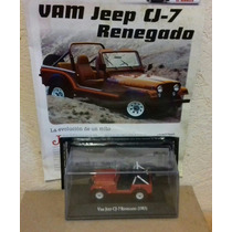 Vam Jeep Cj-7 Renegado 1983 De Grandes Autos Memorables
