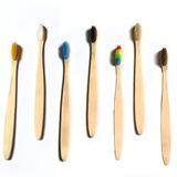 Cepillo Dental Ecologico Bambú Biodegradable 1pz Suelto