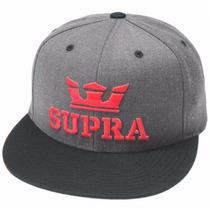 Gorra Supra Hats Hombre Nueva Original Gris $580