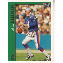 1997 Topps Drew Bledsoe Qb Patriots