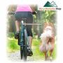 Correa Y Soporte Perro Para Bicicleta Dog Bike 44 Cm.