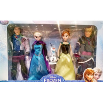 Frozen Dolls Set Delux Gift Disney Collector