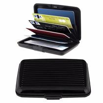 Cartera Card Wallet Aluminio Guard Alluma Tarjeta Seguridad