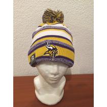Gorro Beanie De La Nfl De Minnesota Vikings