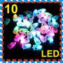 10 Luz Led Lampara China Papel Globo Pantalla Boda Xv Jardin