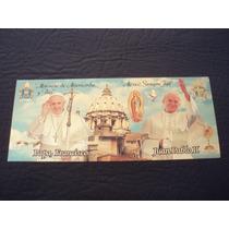 Souvenir S.s. Papa Francisco, Juan Pablo Ii