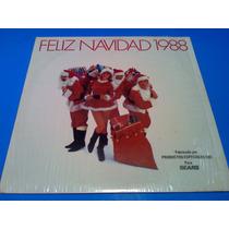 Disco Lp Feliz Navidad 1988 Varios Canciones Navideñas