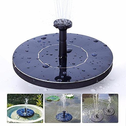 Bomba de agua solar flotante fuente estanque kit completo for Precio estanque
