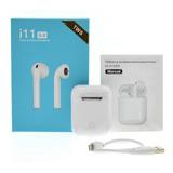 Audífonos Bluetooth 5.0 Manos Libres I11 Tws AirPods Pop Up