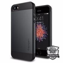 Funda Spigen Slim Armor Iphone 5/5s/se - Metal Slate