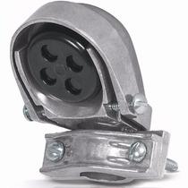 Mufa Con Abrazadera Aluminio Tubo 3/4 Pulgada Volech 46941