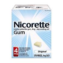 Nicorette Gum Nicotina Original 4 Miligramos Parar De Fumar