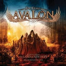 Timo Tolkkis Avalon The Land Of New Hope Cd + Dvd Nuevo