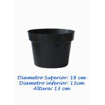 50 Macetas De Plástico Para Vivero Invernadero 7 Pulgadas