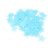 100 Estrellas Fluorecentes Brillantes Decorativas 3cm
