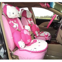 Accesorios Coche Auto Hello Kitty 21 Piesas Envio Gratis