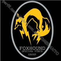 Playera Metal Gear Foxhound Special Force Group Frente Ymax