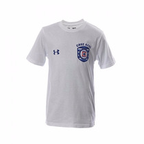 Playera Cruz Azul Graphic Escudo Infantil Under Armour 2015