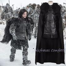 Disfraz De Lujo John Snow Game Of Thrones