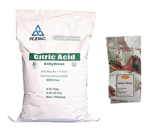 Acido Citrico 1 Kg