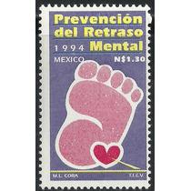 1994 Prevención Del Retraso Mental Sc. 1871 Salud Sello Mnh