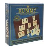 Juego De Mesa Rummy Jumbo Novelty 106 Fichas Con Dado