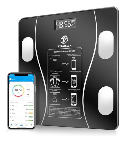 Báscula Electrónica Bluetooth Inteligente De Baño