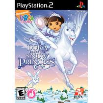 Ps2 Dora La Exploradora Saves The Snow Princess