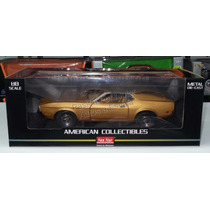 1:18 Ford Mustang Sportsroof 1971 Ocre Sun Star