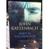 Regalo + Libro Jaque Al Psicoanalista John Katzenbach