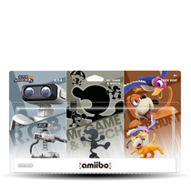 Amiibo Retro 3-pack. ¡ultimas Piezas!. Envio Gratis. Gamers