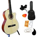 Guitarra Curva En Paquete Todo Incluido Curso En Dvd