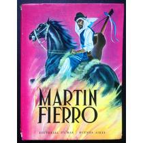 Libro Martin Fierro, Jose Hernandez, 1975