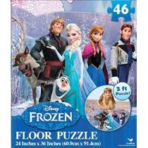 Disney Congelado Piso Puzzle (46 Piezas) 24 X 36