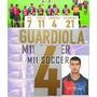 Estampado  Barcelona Local 1999, Guardiola #4 $149