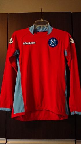 Camiseta De Fútbol Napoli Kappa Italia Maradona Talla Chica 3fff25ebf0e3e